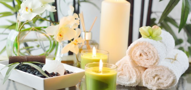 Spa Candles & Oil